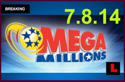 Mega Millions Winning Numbers July 8, 2014 7/8/14 Prompts $25M Results Tonight