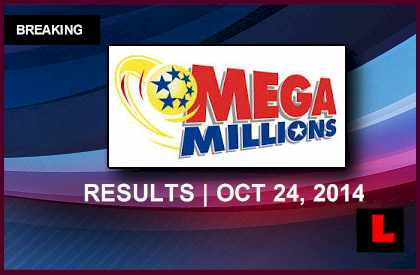 Mega Millions Winning Numbers October 24, 2014 10/24/14 Results Tonight Released