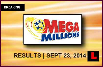 Mega Millions Winning Numbers September 23, 2014 9/23/14 Results Reach $83Ml