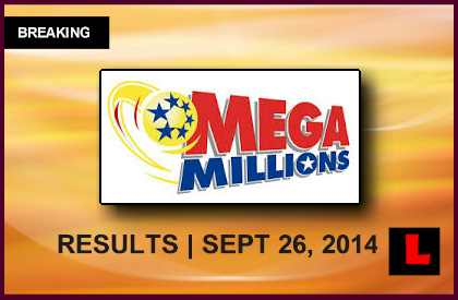Mega Millions Winning Numbers September 26, 2014 9/26/14 Results Surge to $93M