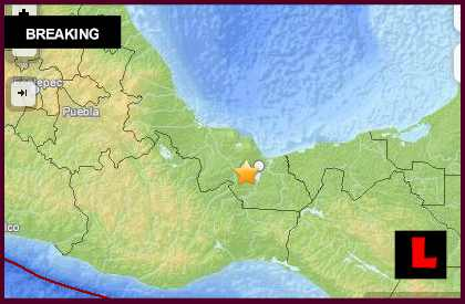 Mexico Earthquake Today 2014: Terremoto Strikes Veracruz Again