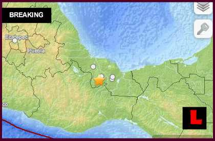 Mexico Earthquake Today 2014: Terremeto Strikes Acayucan