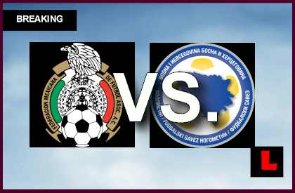 Mexico Vs Bosnia Herzegovina 2014 Score Prompts Soccer