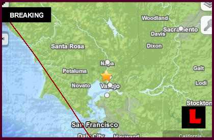 Napa Earthquake Today 2014: California Aftershock Continues