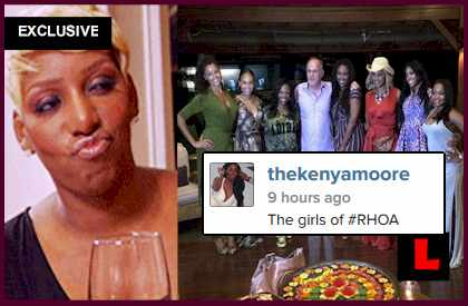 NeNe Leakes Not Leaving RHOA: Kenya Moore Delivers IG Shade - EXCLUSIVE