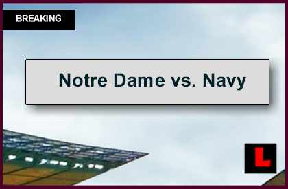 notre dame score today nd game score
