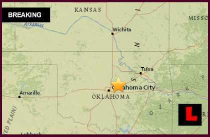 Oklahoma Earthquake 2015 Today Strikes Luther