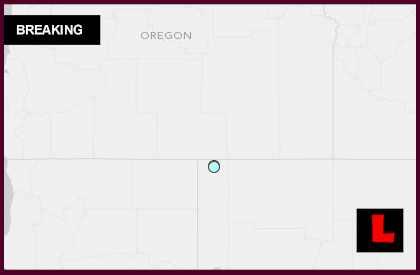 Oregon Earthquake Today 2014 Strikes Lakeview