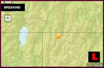 Oregon Earthquake Today 2014 Strikes East of Lakeview