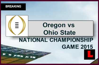 college football score tonight college football championship game time