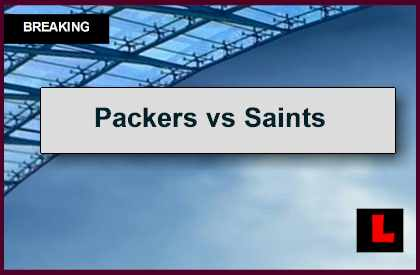 Packers vs Saints 2014 Score Gets Tied up Early in Football Game