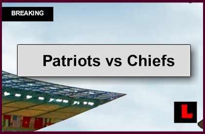 Patriots vs Chiefs 2014 Score Ignites Monday Night Football Tonight