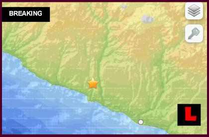 Peru Earthquake Today 2014: Terremoto Strikes Camana