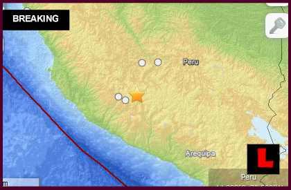 Peru Earthquake Today 2014: Terremoto Strikes South of Lima