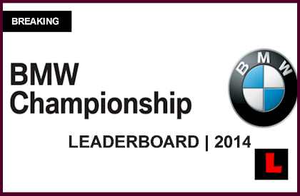 Pga Leaderboard Bmw Championship 2014 Prompts Live Tour Results Today