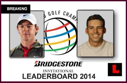 PGA Leaderboard 2014: Will Sergio Garcia Win WGC Bridgestone Invitational