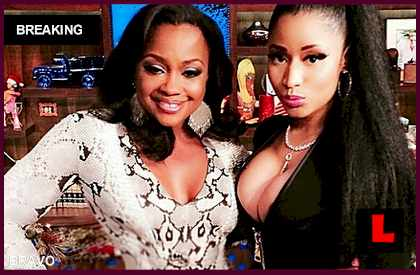 Phaedra Parks Photoshopped Her Nicki Minaj WWHL Photo