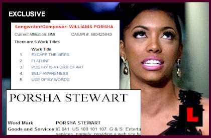 Porsha Stewart Gets Wrong Name from Trademark Office? EXCLUSIVE