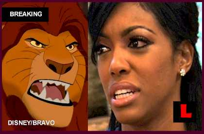 Porsha Stewart Lions, Tigers Strike Kandi Burruss Todd Tucker Wedding