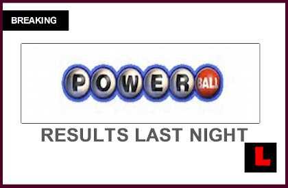 Powerball Winning Numbers 2015 Last Night Roll Over to ...