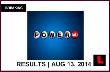 Powerball Winning Numbers August 13 Results Tonight Return to $40M