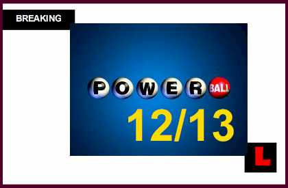 Powerball Winning Numbers December 13 Results Tonight Get Released 2014