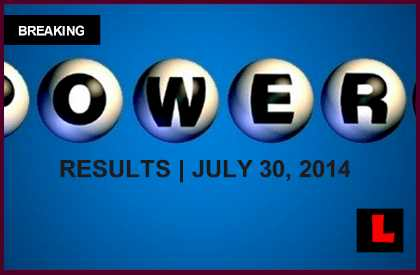 Powerball Winning Numbers July 30 Results Surge to $60M Tonight 2014