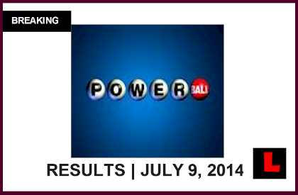 Powerball Winning Numbers July 9, 2014 Results Tonight Surge to $122M