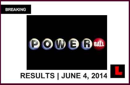 Powerball winning numbers june 4 2014 6 4 14 results tonight 2014
