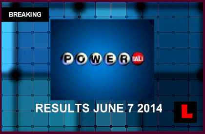 Powerball Winning Numbers June 7 Results Tonight Surge to ...