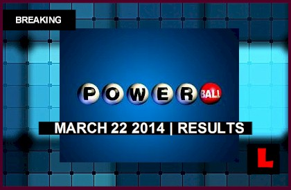 Powerball Winning Numbers March 22, 2014 3/22/14 Results Tonight Reach $96M