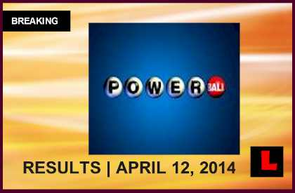 Powerball Winning Numbers April 12, 2014 4/12/14 Results Tonight 2014 Surge to $98M