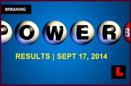 Powerball Winning Numbers 9/17/14 september 17, 2014 Results Tonight Get Released 2014