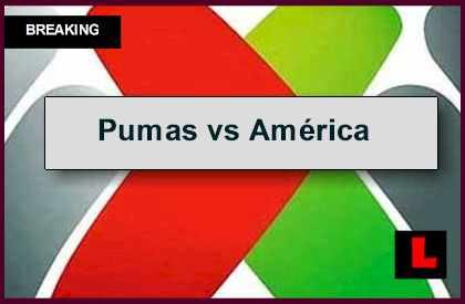 Pumas vs América 2014 Score En Vivo Prompts Liga MX Results