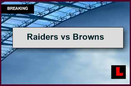 Raiders vs Browns 2014 Score Remains Close at the End of the 3rd