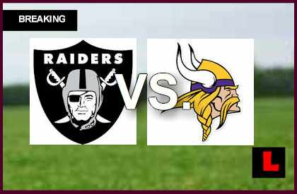 Raiders vs. Vikings 2014 Score Ignites NFL Football Preseason Results Tonight