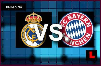 real madrid vs bayern munich results today