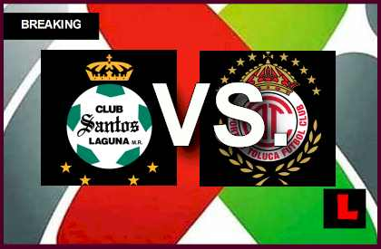 Santos Laguna vs Toluca 2014 Score Delivers Liga MX Table Results