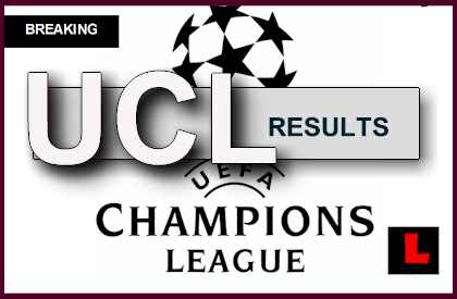 UEFA Champions League Results 2014 Today Prompt UCL Standings, Scores
