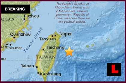 Japan, Taiwan Earthquake 2015 Today Strikes off Coast