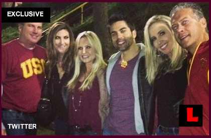 Tamra Barney USC Trojan Pride Split Heather Dubrow & Shannon?  EXCLUSIVEl