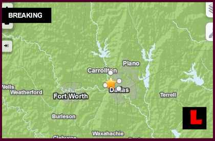 Texas Earthquake Today 2014 Strikes Dallas and Irving 11/22
