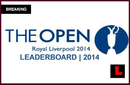 The Open Championship Leaderboard 2014 Results Prompt Tiger Woods Tee Time