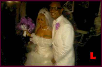 T.I. Wedding Photos -  Tameka Tiny Cottle Wedding