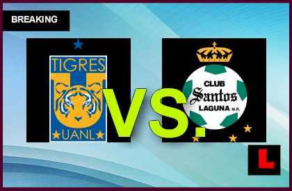 Tigres UANL vs Santos Laguna 2014 Score En Vivo Ignites Copa MX Apertura
