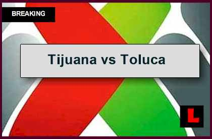 Tijuana vs Toluca 2014 Score Delivers Liga MX Apertura Table	 l