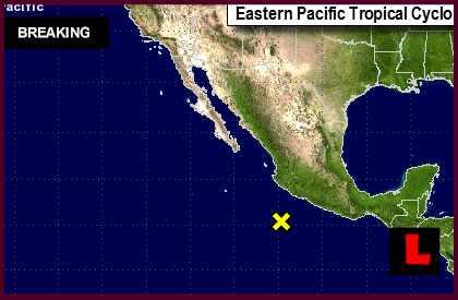 Tropical Storm Norbert 2014: National Hurricane Center Updates Mexicol