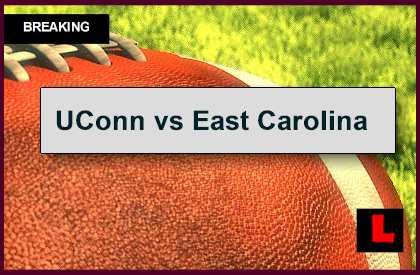 UConn vs East Carolina 2014 Score Prompts AP Top 25 Battle
